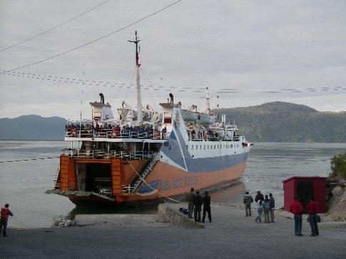 Fähre Chaiten nach Chiloe