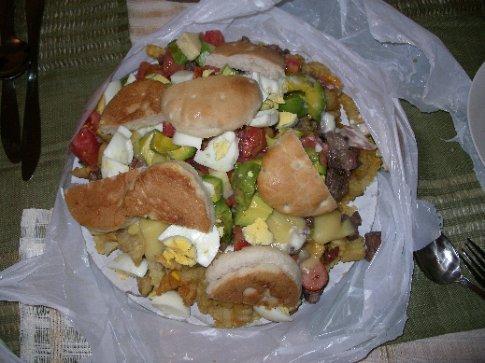 Pichanga, sehr gesundes Essen!