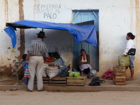 Marktstand in Samaipata