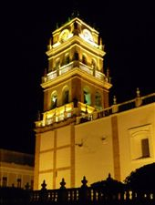 Kathedrale bei Nacht / Sucre: by steffen_graz, Views[217]