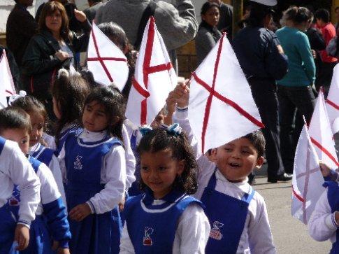 Unabhängigkeitstag in Sucre