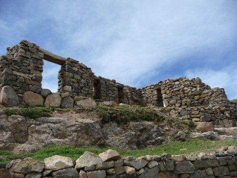 Inka Ruinen / Isla del Sol