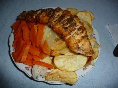 mein Abendessen / Isla del Sol