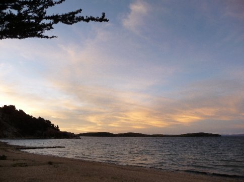 Sonnenuntergang / Isla del Sol