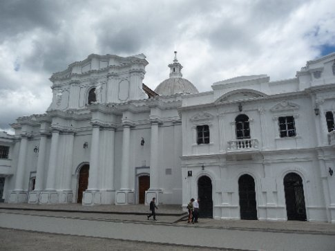 Popayán's Kathedrale