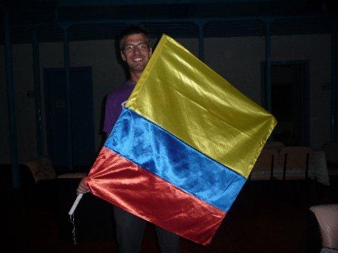 Kolumbien's größter Fan!