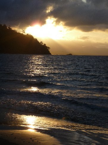 Sonnenuntergang Puerto Obaldia