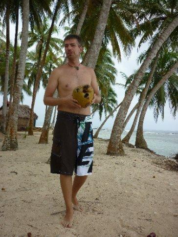 lecker Kokosnuss