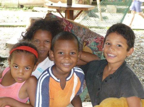 die Kinder aus meiner Unterkunft