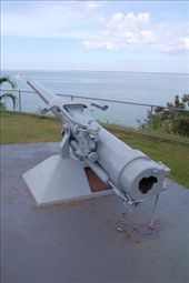 The only canon salvaged from USS Peary, sunk by the Japanese in Darwin harbor: by steph, Views[315]