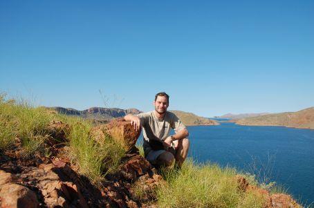 Lake Argyle in the background