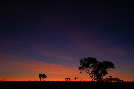 Sunset over the Kimberley