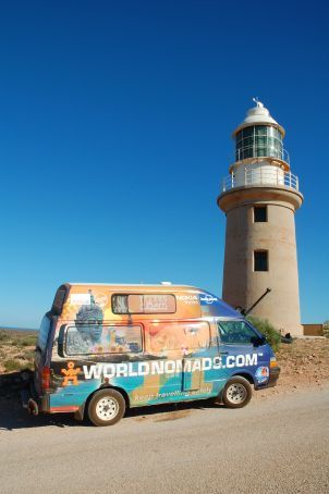 The lighthouse at Vlamingh Head