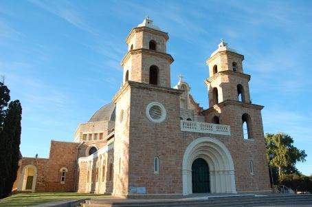The Catherdral of Geraldton, another realisation of Monsignor Hawes