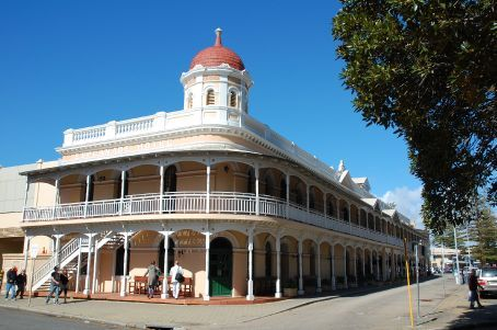 Typical Fremantle Victorian-style building