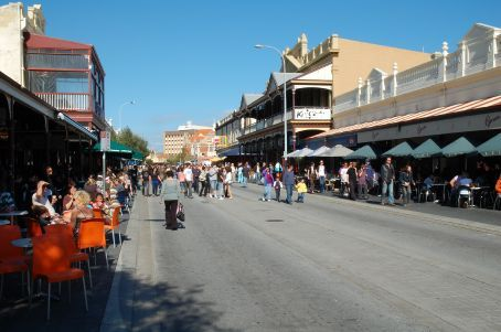 Fremantle's famous Capuccino strip