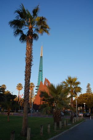 Swan bell tower in Perth