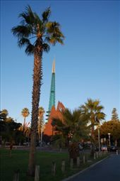 Swan bell tower in Perth: by steph, Views[371]