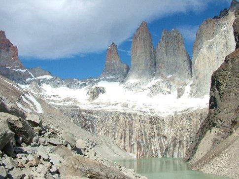 Day 4 Torres del Paine.  The torres del paine.