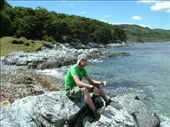 Dave eating.  Tierra del Fuego.: by steph_dave, Views[128]