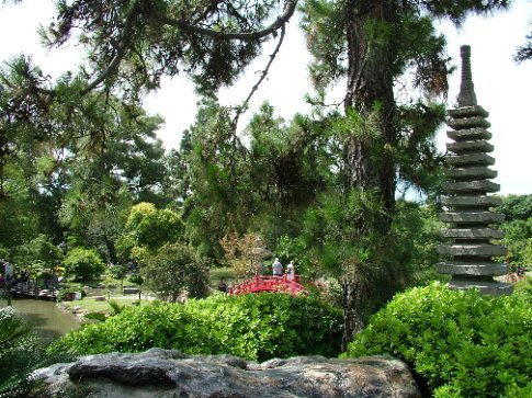 Pretty (but small) Japanese garden in BA