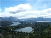 Cerro de Campanario, Bariloche.  Apparently one of the top 10 views in the world.  It is very pretty.: by steph_dave, Views[699]