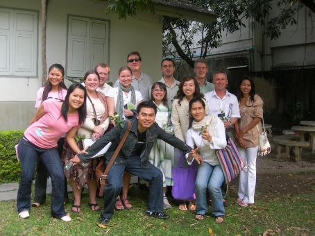 AUA students and student teachers