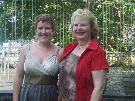 Kathryn and Glenne.
