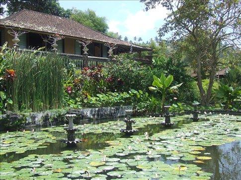The Water Palace at Tirtagangga.