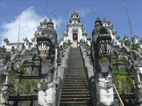 Pura Lempuyang Luhur temple.