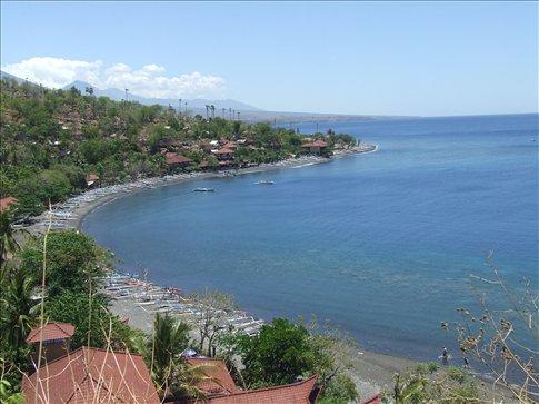The East Bali coastline around Amed.