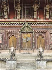 Our day trek ended at the ancient Changu Nayaran Temple.: by steve_and_emma, Views[358]
