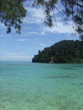 A view of Pulau Gaya from Pulau Sapi.: by steve_and_emma, Views[329]