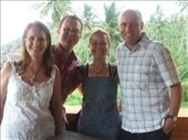 Catching up with Michael and Janette back in Unawatuna.: by steve_and_emma, Views[269]