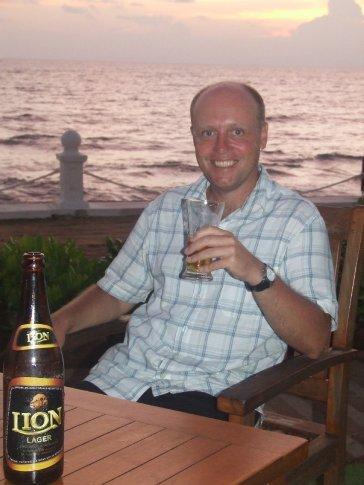 Lion Lager - probably the best in the world!
