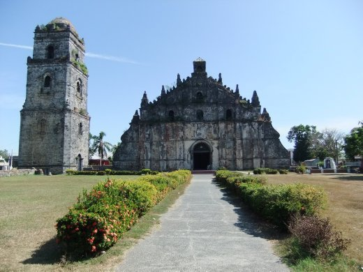 Paoay Church, south of Laoag.