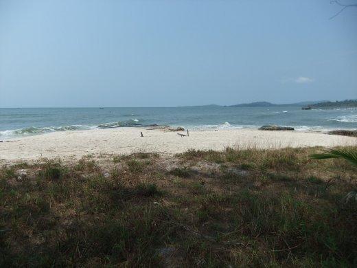 A beach in Ream National Park.