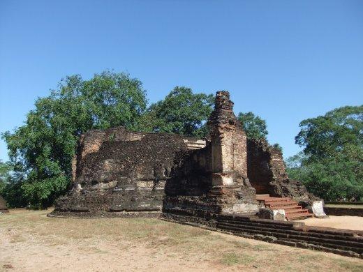 Potgul Vihara, Polonnaruwa.
