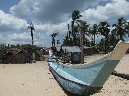 Fishing village, Arugam Bay.