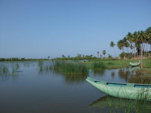 Pottuvil Lagoon.