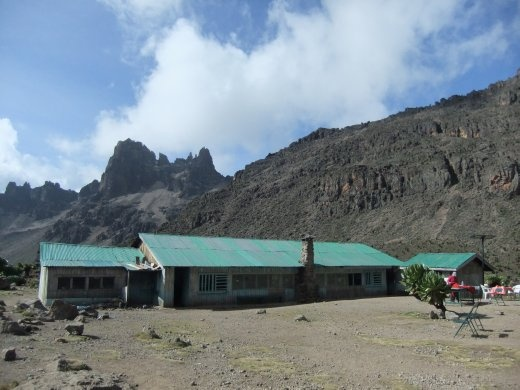 Shipton's camp was our base for the 2nd night, it was much more spacious than Moses Camp and it afforded great views of Mt. Kenya.