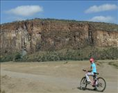 Cycling in Hell's Gate National Park.: by steve_and_emma, Views[139]