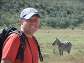 Cycling meant we could get up close to zebras.: by steve_and_emma, Views[258]