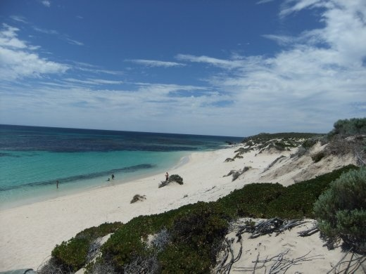 The island was packed but we still managed to find a private beach - not bad hey!