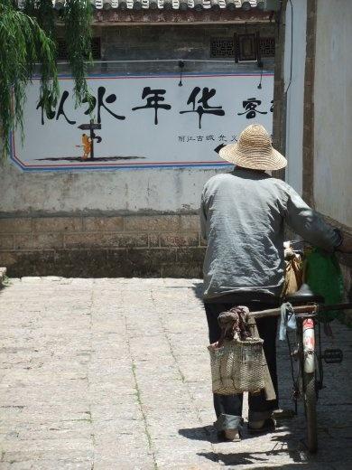 Lijiang has lots of small lanes to explore.