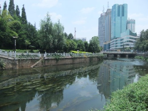 Kunming was an ok city for a stop over.
