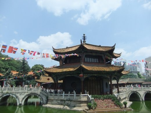 A temple in Kunming.