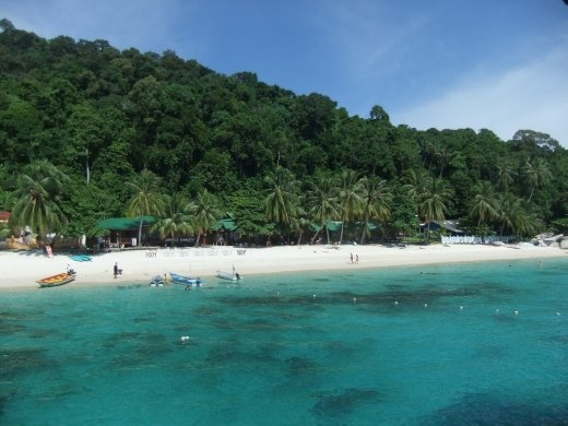 Sad to leave Perhentian for probably the last time, got to be the best island in Malaysia.