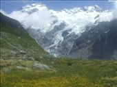 View of Mt. Sefton from Kea point in Mt Cook National Park.: by steve_and_emma, Views[216]