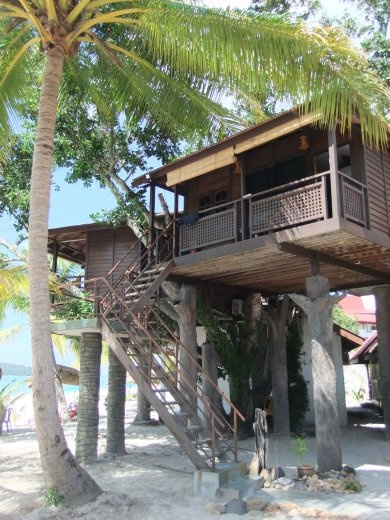 Our tree house at Malibest Resort.
